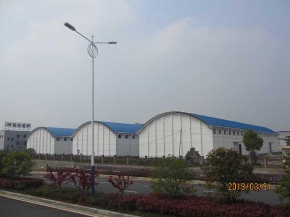 江西新余粮食储备-拱形屋面,拱形屋面工程