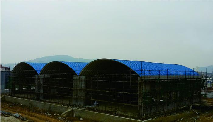 贵州铜仁综合贸易公司仓库-无梁拱