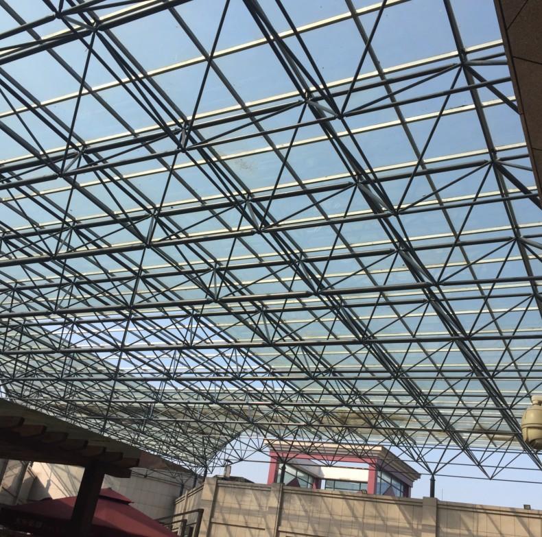 天元涉外景园网架钢结构工程项目