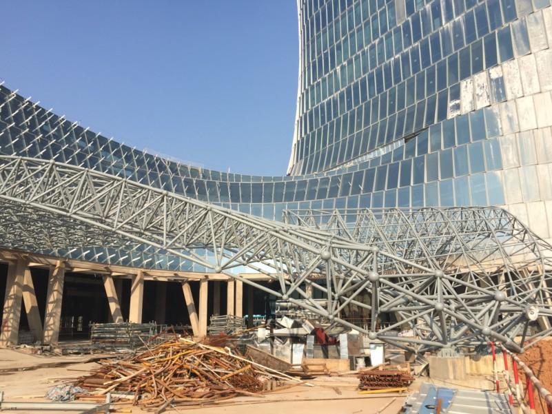 大王山网架钢结构工程项目