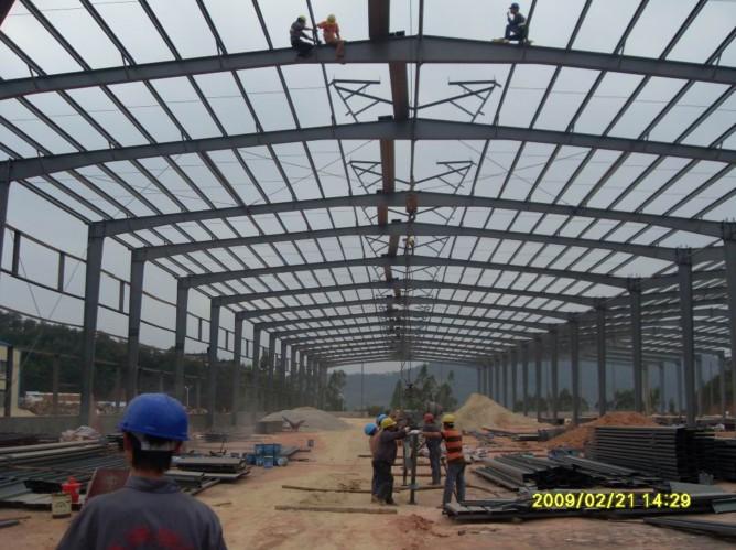 轻钢钢结构工程